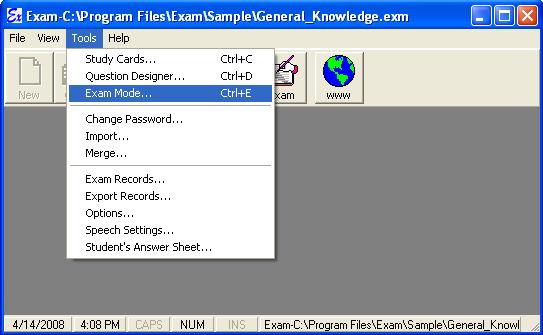 Exam Software Test Engine